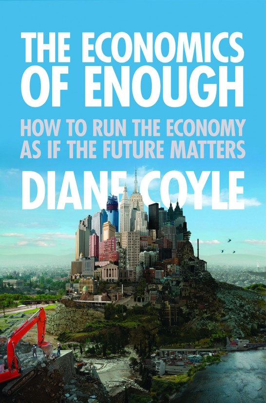 The full cover of The Economics of Enough by Diane Coyle