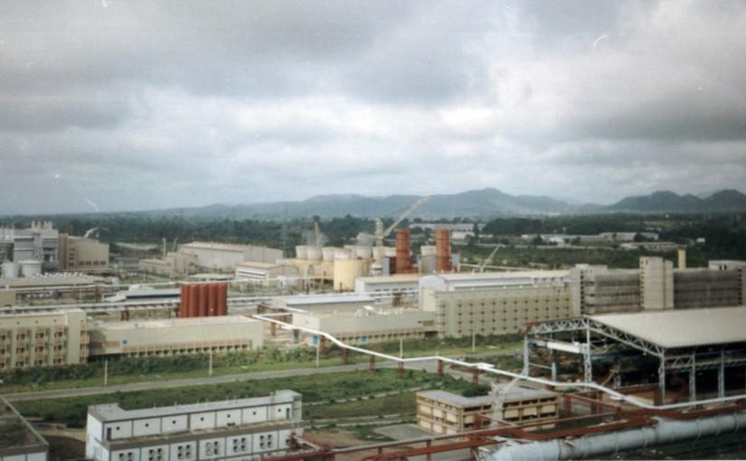 The Ajaokuta steel factory in 1994