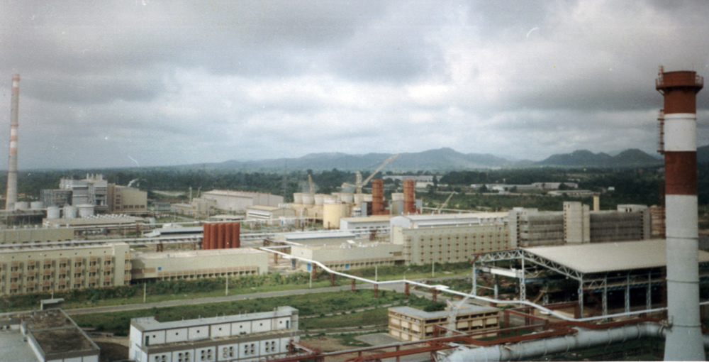 The Ajaokuta steel factory in 1994