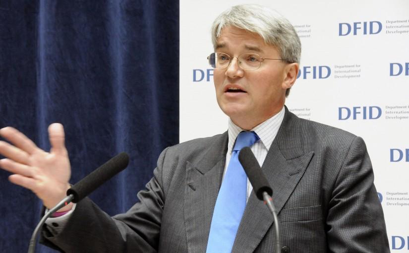 Andrew Mitchell, Secretary of State for International Development