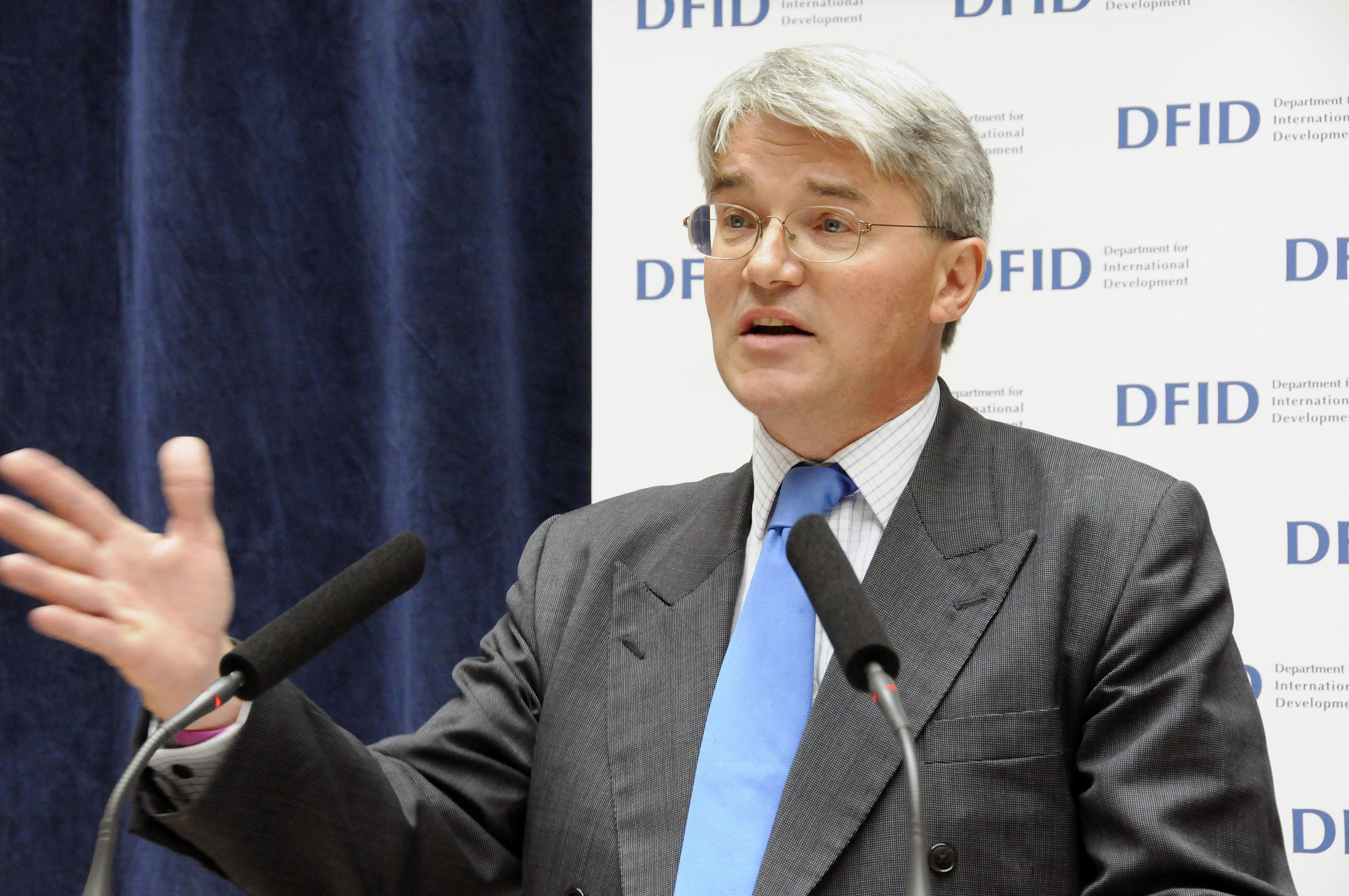 Andrew Mitchell, Secretary of State for International Development
