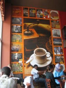 Kaldis coffee shop