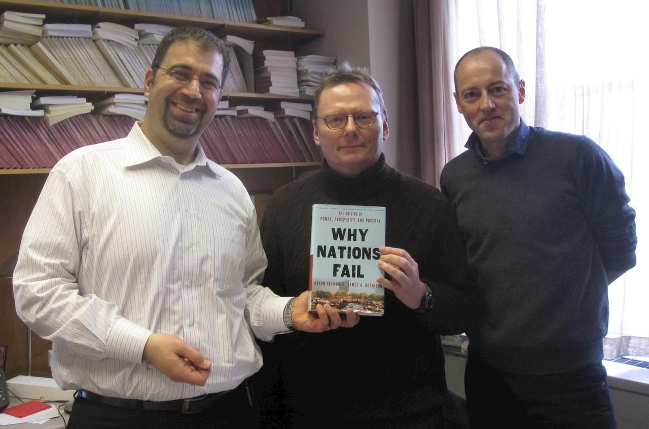 Daron Acemoglu, Jim Robinson, Owen Barder
