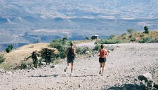Running in the Blue Nile Gorge