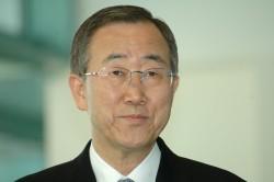 Headshot photo of Ban Ki-Moon, Secretary General of the United Nations