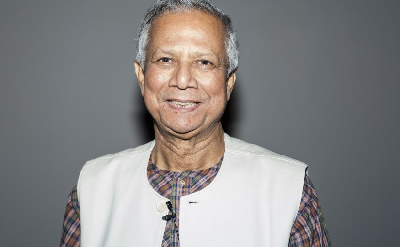Muhammad Yunus, September 26, 2013.