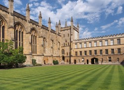 The Front Quad of New College Oxford