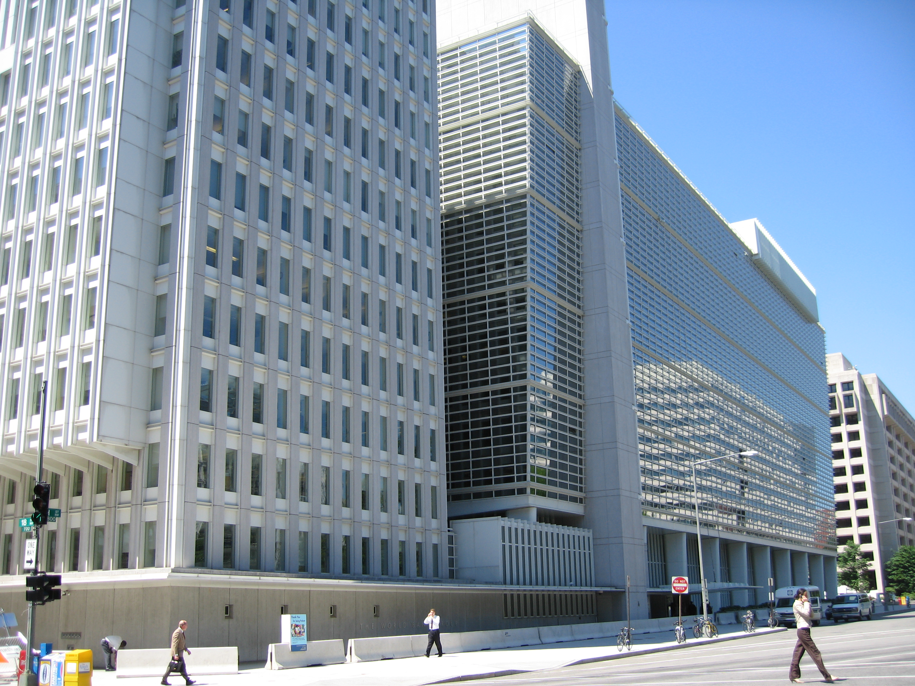 Photo of the World Bank HQ